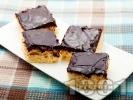 Рецепта Кокосов сладкиш с шоколадова глазура